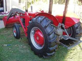 Tractor for sale QLD 135 Massey Ferguson Tractor