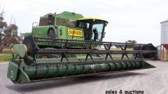John Deere 8820 Header for sale Vic Minyip