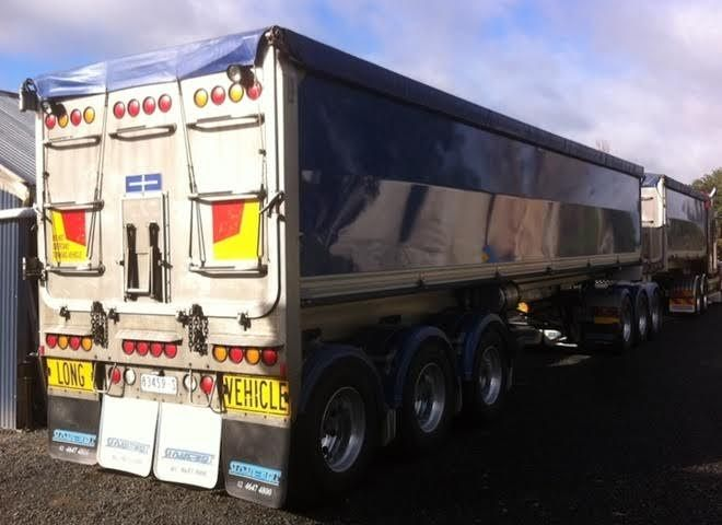 B Double Sloane Grain Tipper Trailers for sale Vic/NSW