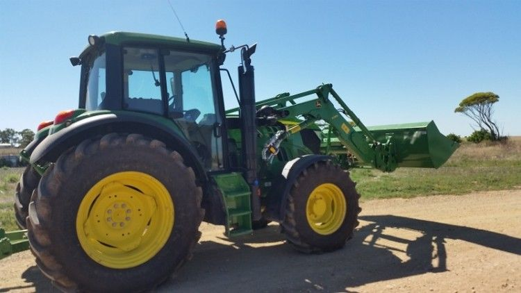 John Deere 6105M Tractor for sale SA Wild Horse Plains