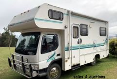 2002 Winnebago Motor Home for sale Tas Sth Bruny Island