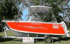 Boat for sale QLD Alloy 2009 Seascape Sunchaser St Helens Beach