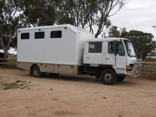 1993 Mitsubishi FK417 Horse Transport for sale Adelaide SA