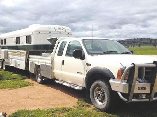 F250 Ute - 3 Horse Angle Load Goose-neck Horse Transport for sale NSW