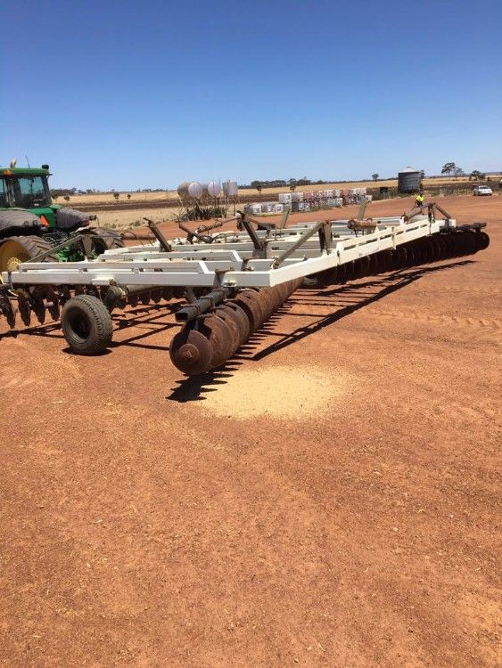 40 Foot Offset Discs Fusion Farm Machinery for sale WA