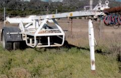 Pole Trailer & Cable Trailer for sale NSW Goulburn