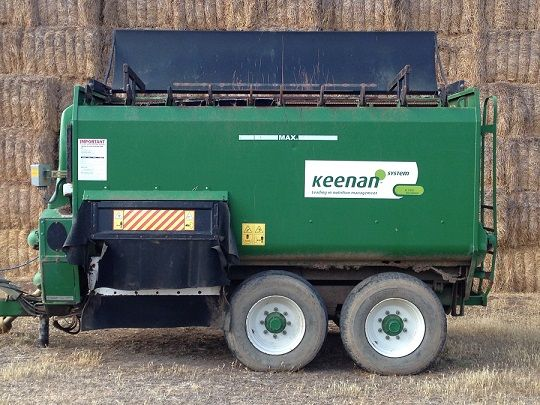 Keeman K160 Feed Wagon Farm Machinery for sale Vic