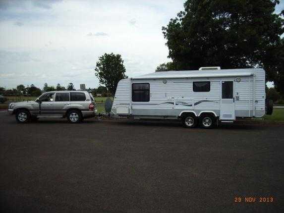 Perfect Caravan For Sale QLD Mooroobool Compass Limited Edition Poptop Caravan