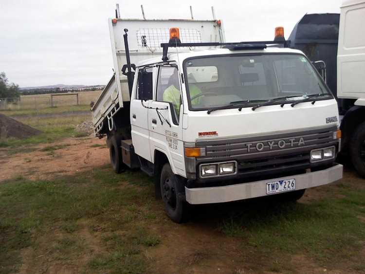 Toyota Dyna Tipper Truck for sale Vic Melton