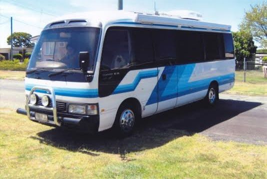 Toyota Coaster Ex Motorhome for sale QLD Gatton