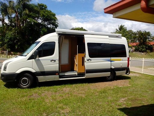 VW Crafter - Talvor Motorhome for sale QLD Deception Bay