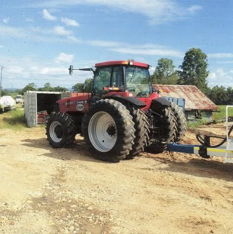 2003 Case IH MX270 Dual Wheeled Tractor for sale QLD
