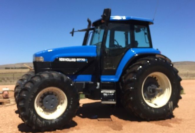 Tractor New Holland 8770A Farm Machinery for sale SA
