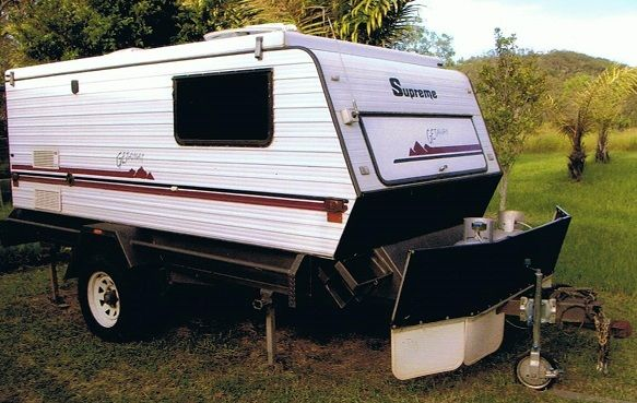 Supreme Getaway Pop Top Off Road Caravan for sale QLD Gladstone