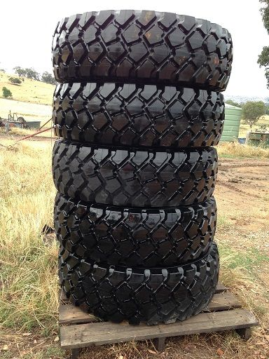 5x Unused Michelin XZL 365/85 R20 Tubeless tyres Truck for sale NSW Adelong