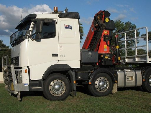 Volvo FH500 Crane Truck for sale QLD Gumdale