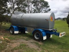 1990 13000ltr Tieman tanker Trailer for sale Gympie Qld