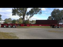 Barker Flat Top Extendable Trailer for sale NSW Tocumwal