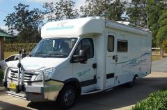 Luxury Toyota Coaster Conversion Motorhome For Sale QLD