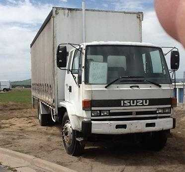 14 Pallet Curtain Sider Isuzu JAL FTR Truck sales Vic HUGE Price Reduction!