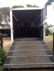 Isuzu FRR 500 4 Horse Truck Horse Transport for sale SA