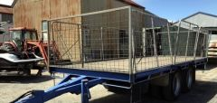 Pig Trailer for sale TAS Ulverstone