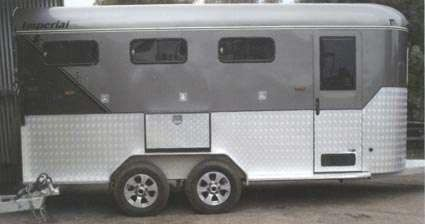 XLT F250 4 x 4 Imperial 4 - Horse Angle Horse Float for sale Vic