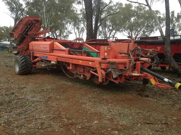 Grimme DL 1700 Potato Harvester Farm Machinery for sale NSW