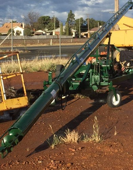 BACK SAVER  Cole Hydraulic Auger  for sale West Wyalong NSW