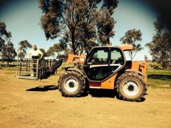 Manitou Telehandler MIT 731 Turbo Farm Machinery for sale Vic