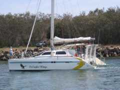 Crowther SP40 Catamaran Boat for sale QLD Mooloolaba