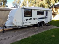 Quantum Cyclone 21ft Caravan for sale Vic Eagle Hawk