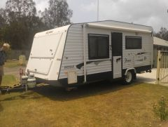 2012 Semi off road 18ft 6 inch Roma Pinto Caravan for sale Qld Helensvale
