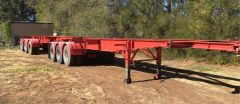 B-Double 20ft A & B Skel Trailers for sale Darlington Point NSW