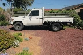 2008 Toyota Landcruiser Tray GXL Ute for sale Vic Coolaroo