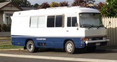 1991 Toyota Coaster Motor Home For Sale Tas Northern