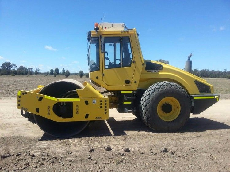 2012 Bomag Smooth Drum Roller Earth-moving Equipment for sale NSW