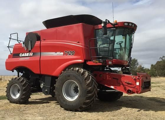 2 x Case 7120 Harvesters Farm Machinery for sale SA