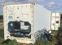 20ft refrigerated sea container plant & equipment for sale WA Pemberton