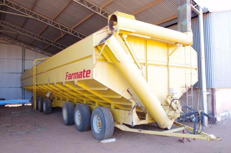 110 Ton Field Bin Farm Machinery for sale WA