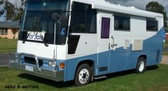1988 HINO RH160 Motor Home for sale Tas sheffield