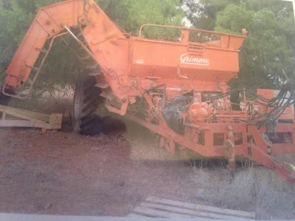 Jumbo Potato Harvester Grimme Farm Machinery for sale NSW