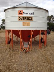 Ahrens Sherwell PTO Mobile Field Bins Farm Machinery for sale VIC Mortlake