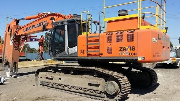 Hitachi ZX470LCH-3 Excavator Earthmoving Equipment for sale  Vic
