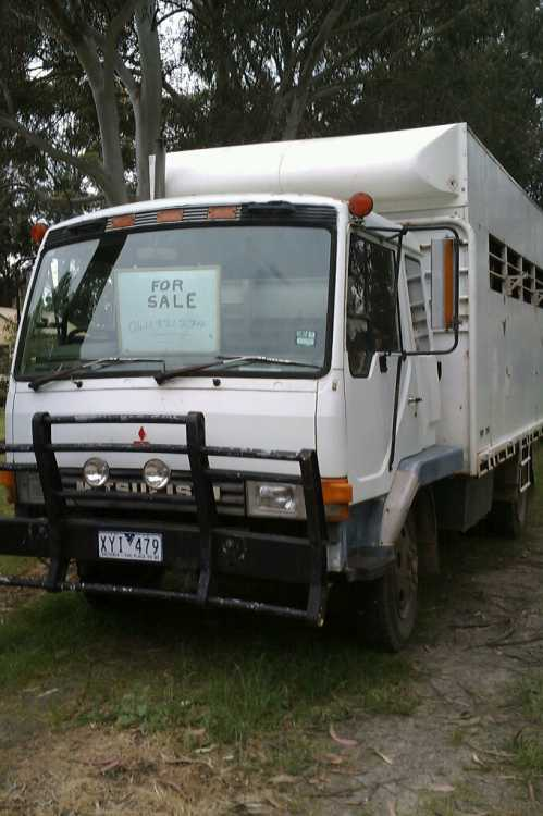Horse Transport for sale VIC Mitsubishi 4-5 Horse Truck