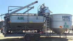 De Barrel Rotary seed Cleaner farm Machinery for sale SA Port Lincoln