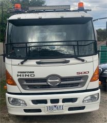2015 Hino 500 FD 1124 Tray Top Truck for sale Vic Parkdale
