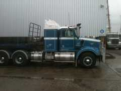 Truck for sale VIC 4864 Western Star Prime Mover Truck and Krueger Trailer