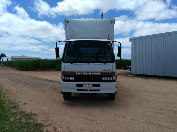 Mitsubishi 677 12 x Pollet Curtain-sider truck for sale QLD