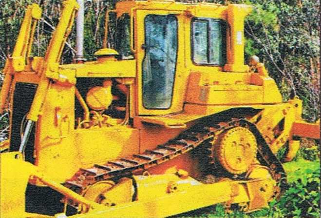 Caterpillar D6H Dozer Earthmoving Equipment for sale NSW Linden